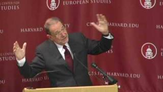 """Europe in the World"" - Javier Solana speaks at Harvard"