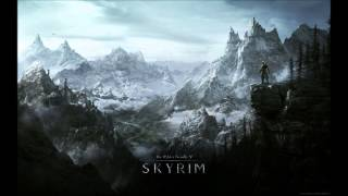 TES V Skyrim Soundtrack - The Jerall Mountains