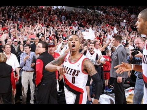 Tissot Buzzer Beater | 5.2.2014: Damian Lillard Sends Portland to the 2nd Round!