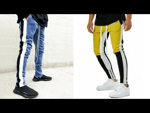 Latest track pants for boys  new trend