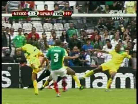 Mexico vs Guyana 3-1 Eliminatorias Rumbo al Mundial de Brasil