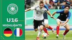 Deutschland - Frankreich 3:0 | Highlights | U16 Länderspiel