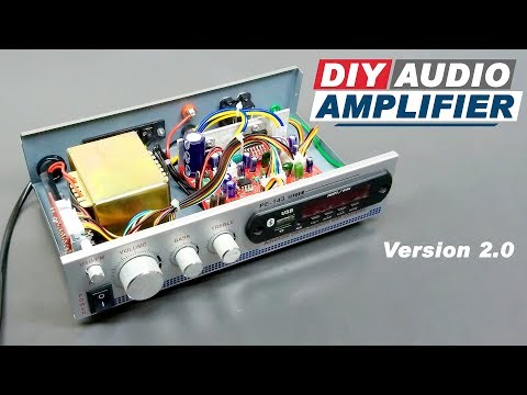 How to Make an Audio Amplifier TDA7297 Board with Bluetooth DIY | Version 2.0 (Hindi) ELECTRO INDIA