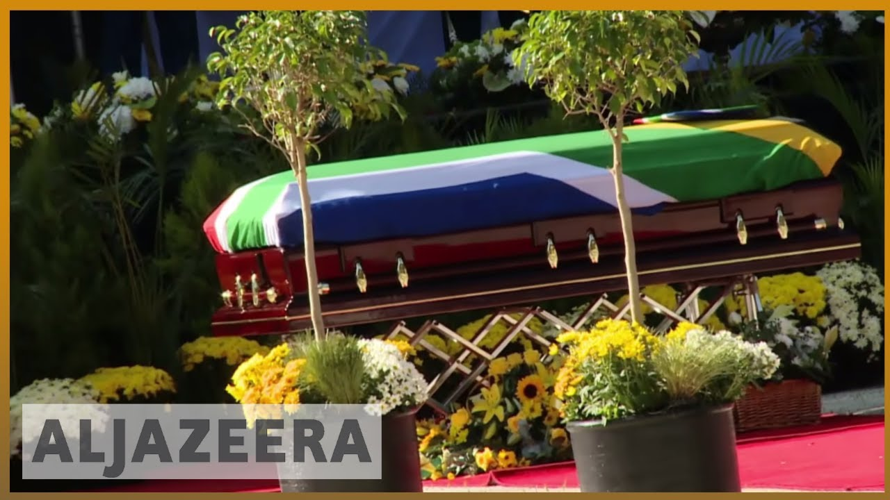 Winnie Mandela funeral: Thousands attend ceremony in Soweto | Al Jazeera English