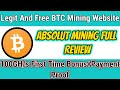 BITCOIN MINING SITE  Crypto-Mining.biz Review LIVE PAYMENT PROOF