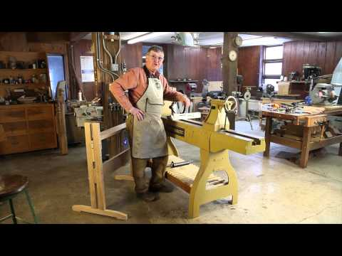 Using a Bench while Woodturning