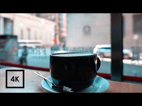 Cafe Sounds For Study, Coffee Shop Ambience (Lofi Hiphop, Chillhop) 4k