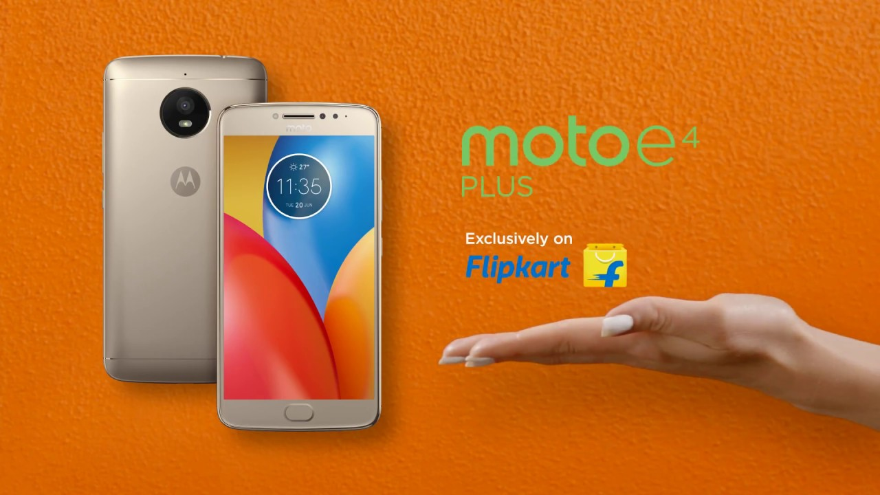 Motorola E4 Plus 3GB RAM 16GB ROM Smartphone - Mobile