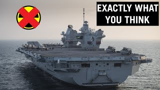 Why HMS Queen Elizabeth Carrier is Not Nuclear-Powered? #shorts