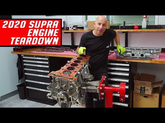 2020 Supra B58 Engine Teardown - First Look - Better than the 2JZ?