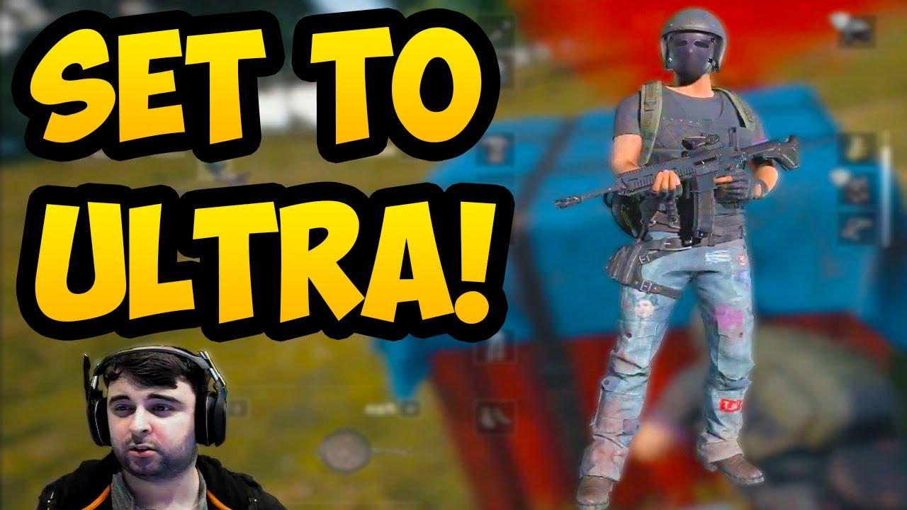 Pubg Ultra Hd Settings: ON ULTRA SETTINGS!!