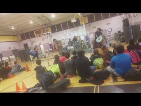 Vocaltrash sings at alpine middle school