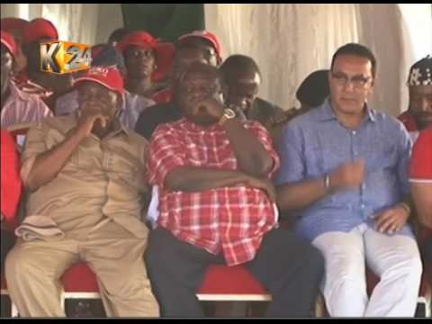 Thousands attend Mombasa rallyas Coast leaders defect to Jubilee