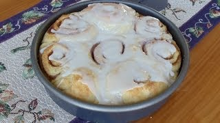 World's Easiest Cinnamon Rolls (no Mixer... No-kneading... No Yeast Proofing)