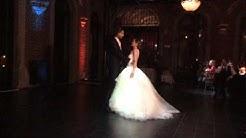 Enlightened wedding dress ball dance