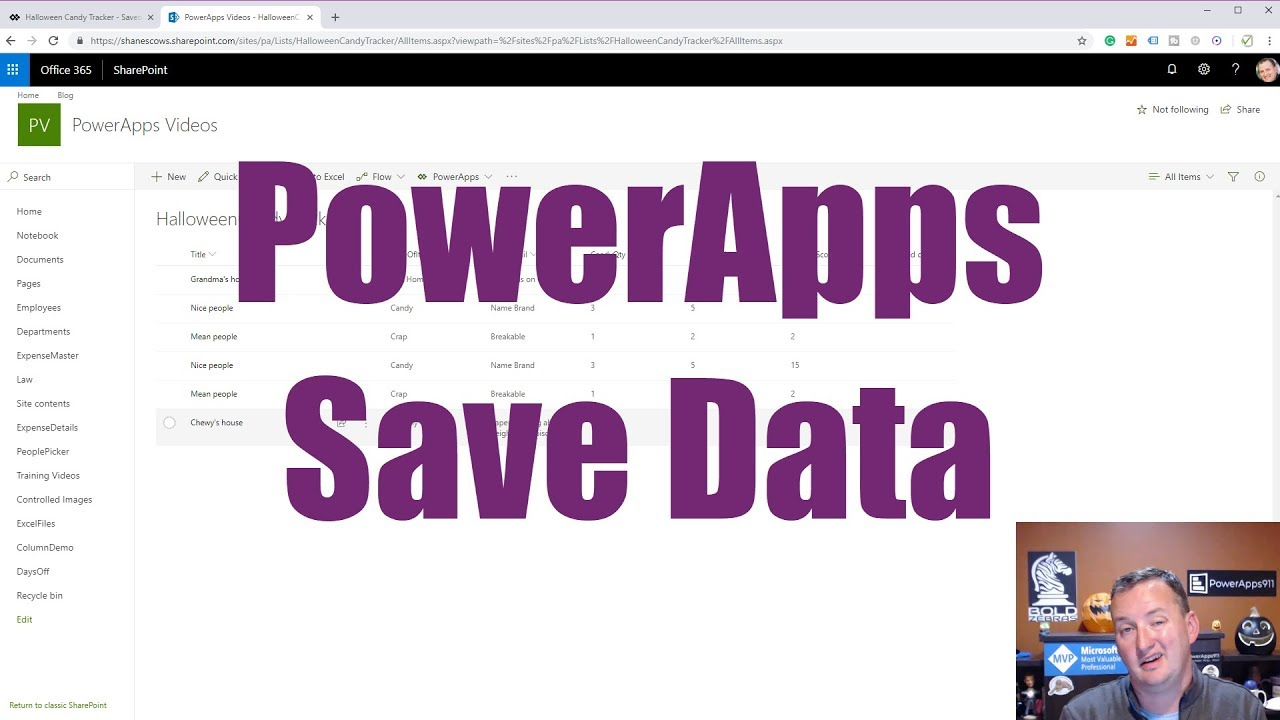 Save Data in Power Apps with Patch, Collect, and ForAll functions