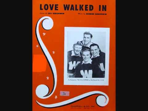 The Hilltoppers - Love Walked In (1953)