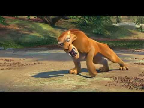 Ice Age 3 (Lion vs Deer)