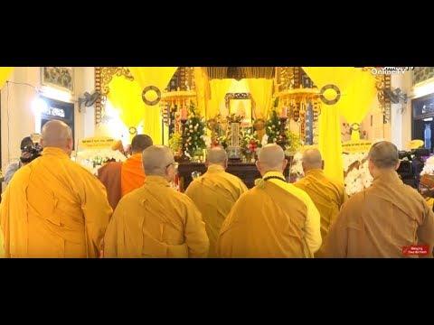 Khánh Hòa: Trung ương Giáo Hội Kính Viếng Tang Cố Trưởng Lão HT. Thích Như Ý