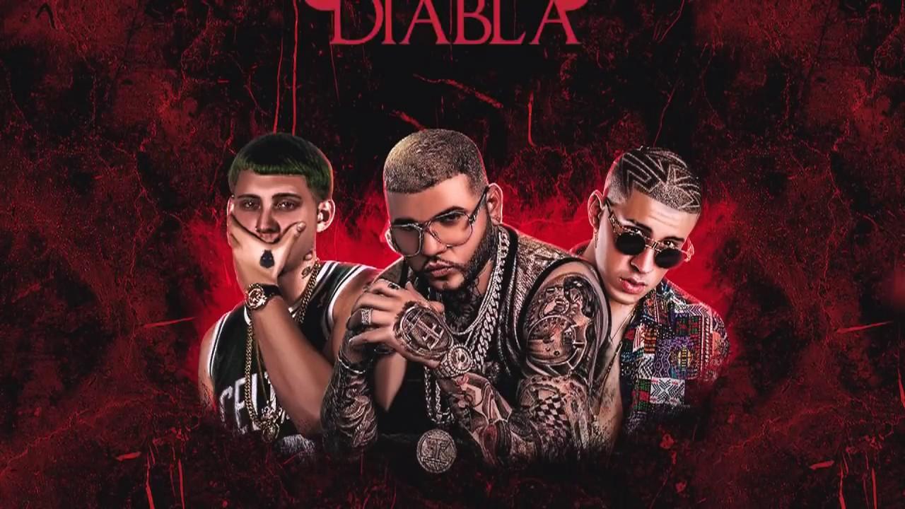 Farruko Ft. Lary Over Y Bad Bunny - Diabla (Official Remix) (Audio)