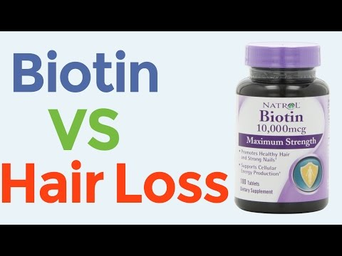 Biotin For Faster Hair Growth And Hair Loss Prevention