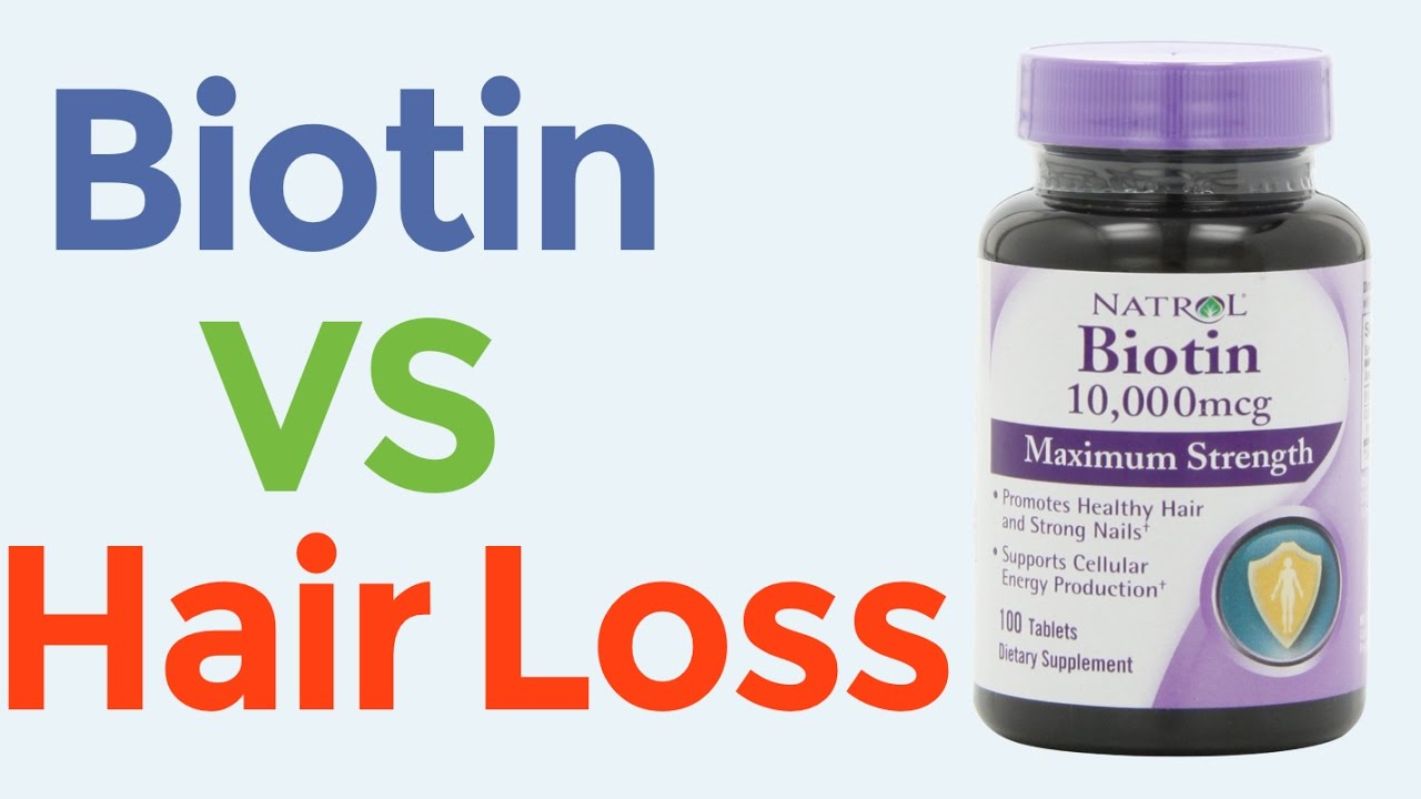 Biotin For Faster Hair Growth And Hair Loss Prevention Doovi