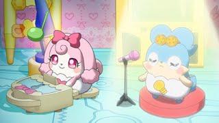 「おシャキ歌います!!」 ラキたまたちみんなが大好きなアニメの主題歌を...