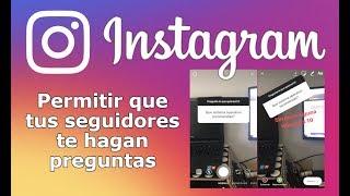 Como activar las preguntas en Historias de Instagram. (Andriod e iOS)