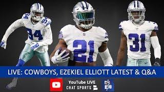 Dallas Cowboys Rumors, Ezekiel Elliott, Trades, Tyrone Crawford, Randy Gregory, Training Camp & News