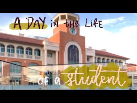 A DAY in the life of a STUDENT (Singapore IP student vlog)    NYGH