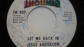 JESSE ANDERSON-LET ME BACK IN {THOMAS 1970}