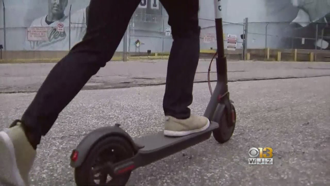 Video: 2 Baltimore Kids Allegedly Steal Bird Scooter