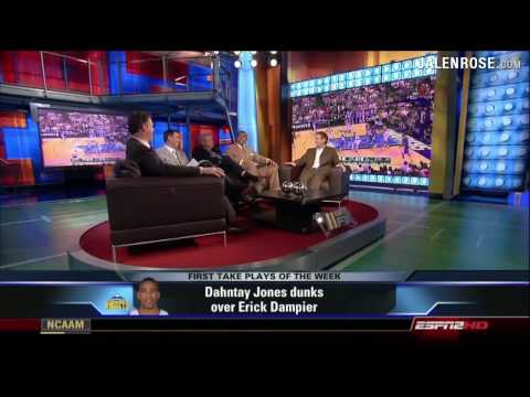 Dahntay Jones POSTERIZES Erick Dampier - NBA Dunk of the Week 5/13/09