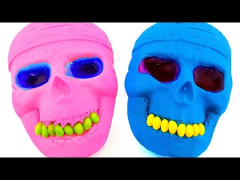 Thumbnail: DIY How to Make Kinetic Sand Mask Mold Slime Play doh Carrot Learn Colors For Children Fun