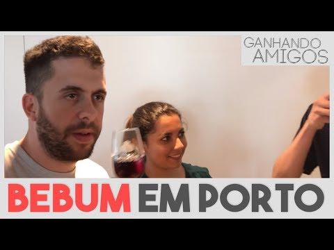 GANHANDO AMIGOS #16 - EMBEBEDANDO OS PORTUGA (Porto, Portugal)