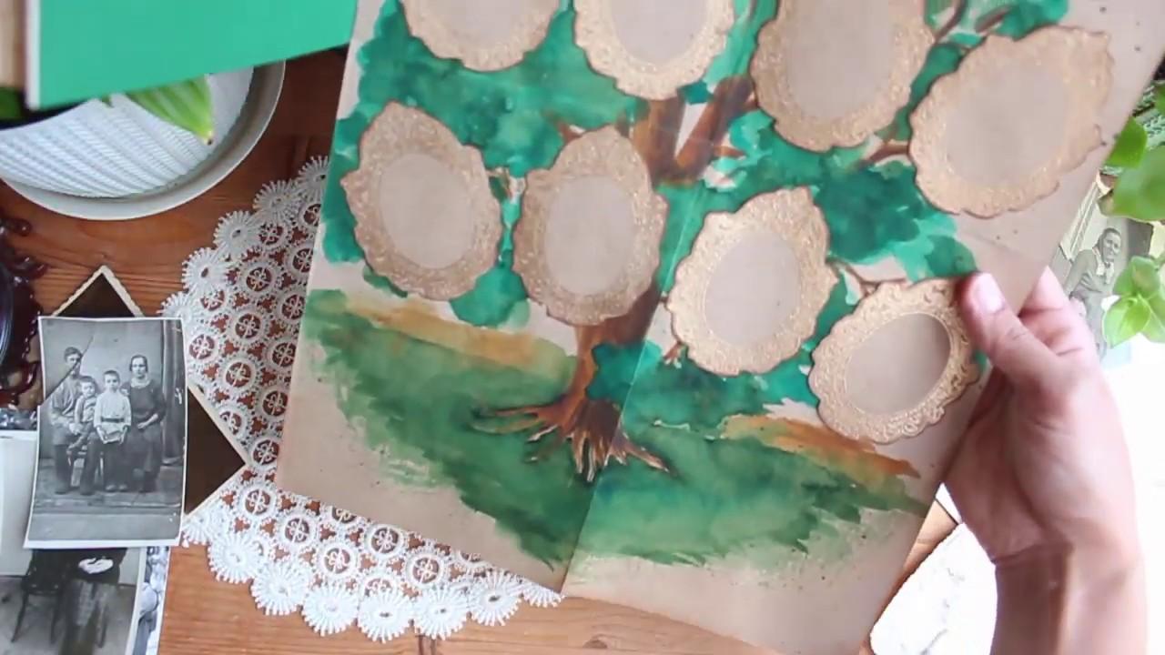 Видеообзор родословная книги с фасадом на обложке