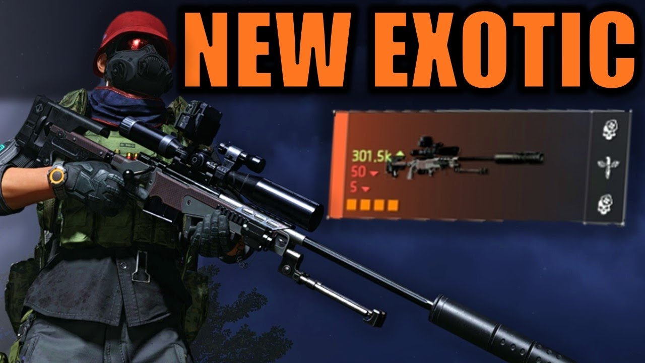 The Division 2: NEMESIS Exotic Sniper! - How to get it & Review!
