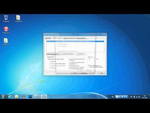 Windows 7 sneller laten opstarten(dual core, Quatcore!)