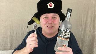 How to Drink Vodka Like a Real Russian [Rated PG13]