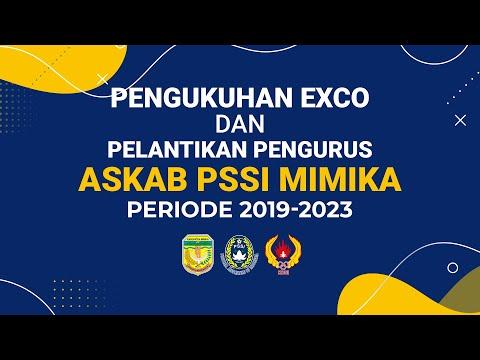 LIVE - PENGUKUHAN EXCO DAN PELANTIKAN PENGURUS ASKAB PSSI MIMIKA PERIODE 2019-2023