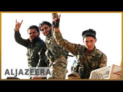 SDF battles to