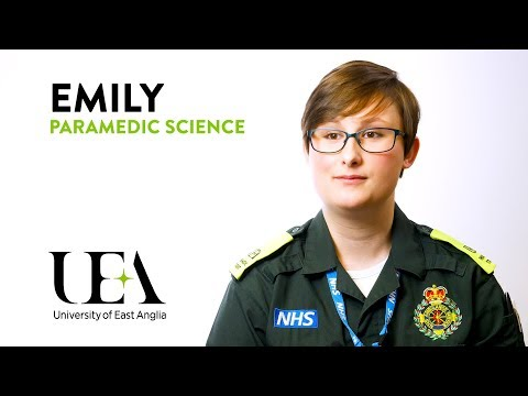 BSc Paramedic Science – Emily