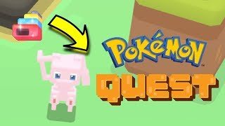 Pokemon Quest Legendary Cooking Guide  - How To Get Legendary MEW Pokemon In Pokemon Quest!