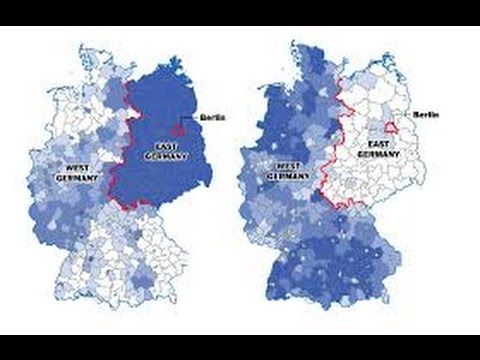 Difference Between East and West Germany - YouTube