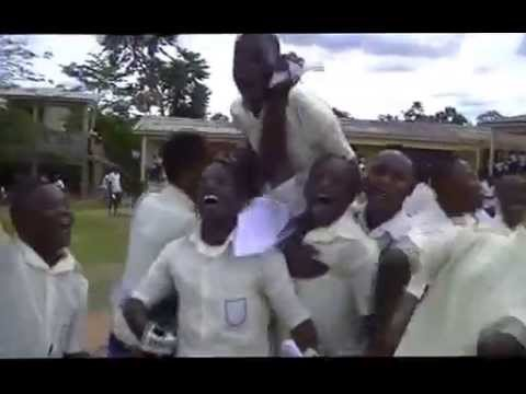 Ajumako Bisease; students jubilate after WASSCE exams