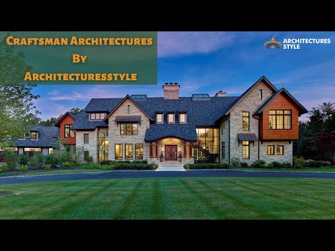 Craftsman Architectures Design || Craftsman House || Modern Houses