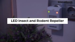 InnovaGoods Home Pest LED Insect and Rodent Repeller