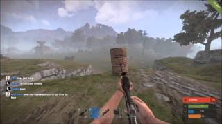 holding down the line rust pvp with ray