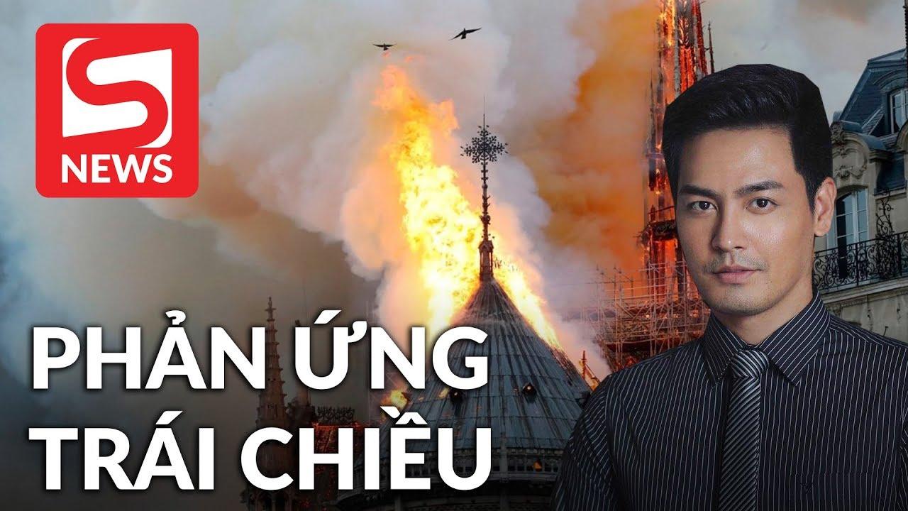 """MC Phan Anh nhận rổ gạch đá vì """"hám fame"""" đám cháy ở Pháp"""