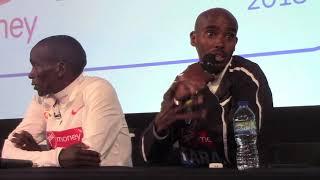 Mo Farah describes his drinks mixup at 2018 London Marathon